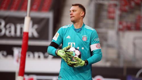 Manuel Neuer sorgte beim Spiel des FC Bayern beim VfB Stuttgart für Diskussionen