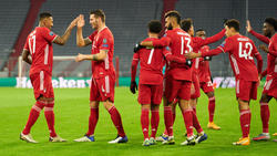 Der FC Bayern München muss auf Niklas Süle (2.v.l.) verzichten