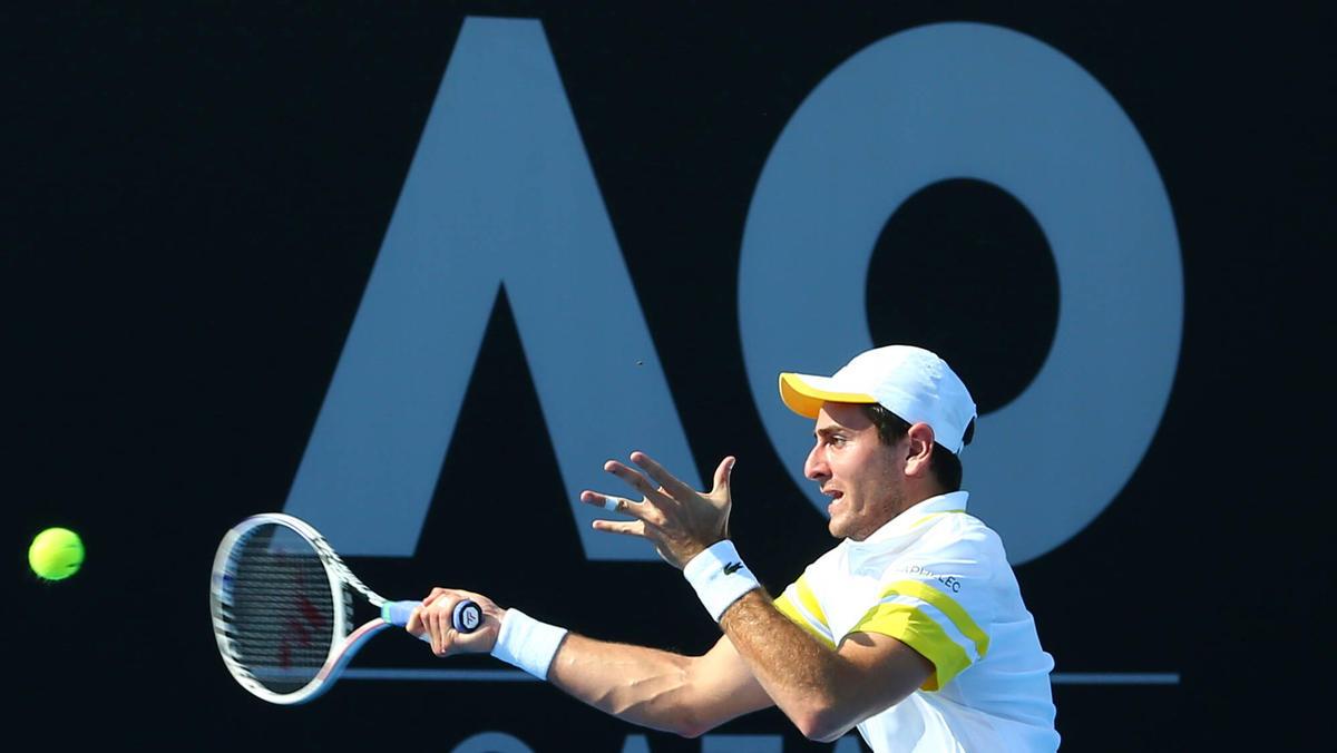 Zurzeit finden die Qualifikationsspiele für die Australian Open statt