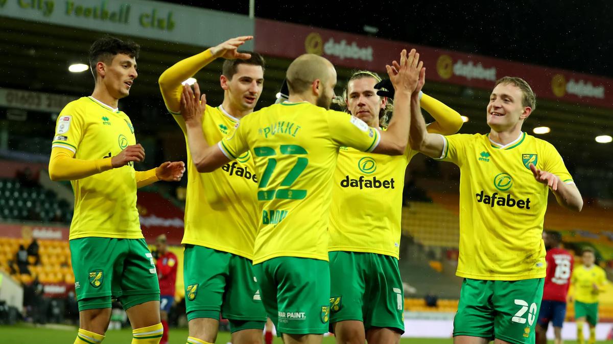 Norwich City kann den Sekt kaltstellen