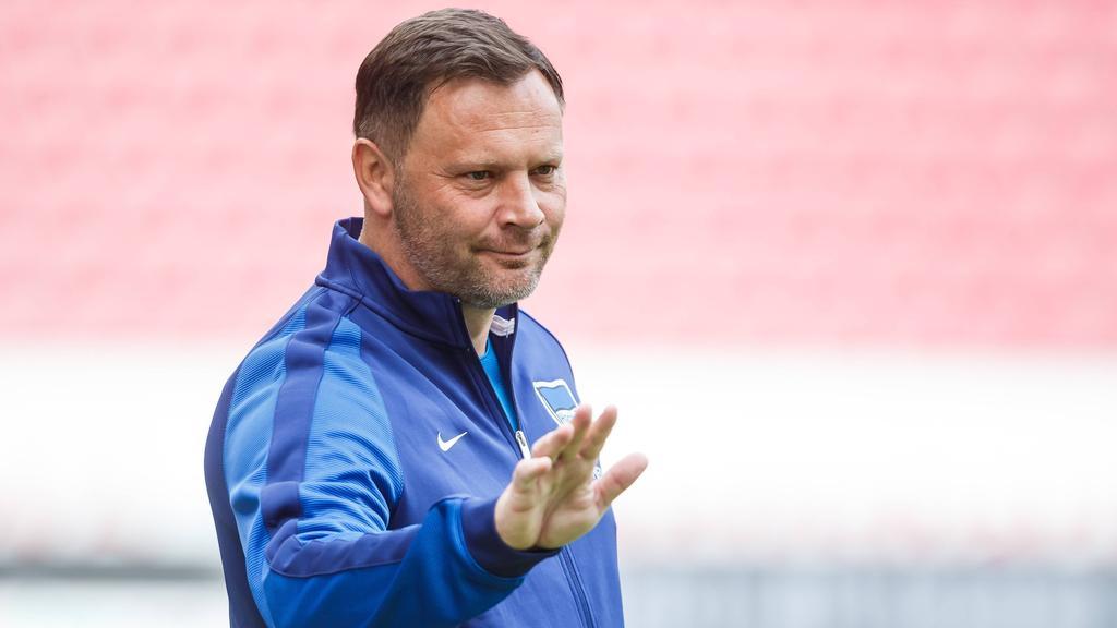 Pál Dárdai trainiert Hertha BSC