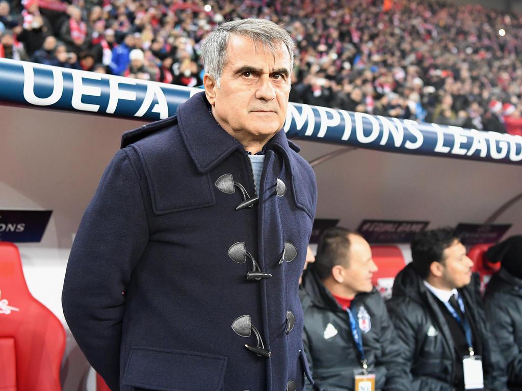 Besiktas-Trainer Senol Günes verbreitet vor dem Rückspiel gegen den FC Bayern München Zuversicht