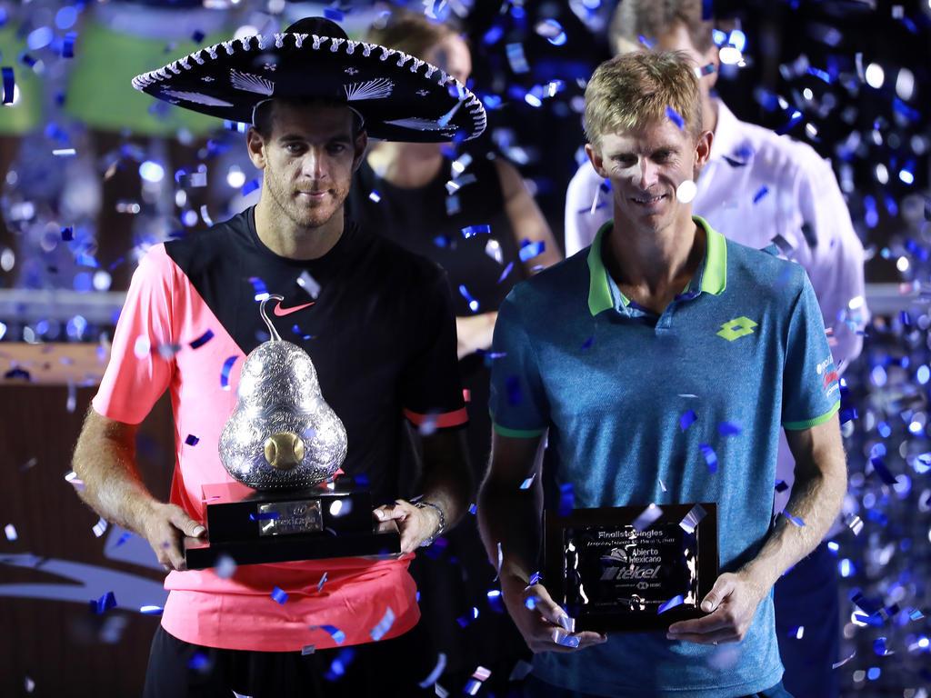 Del Potro gewinnt gegen Anderson das Finale in Acapulco