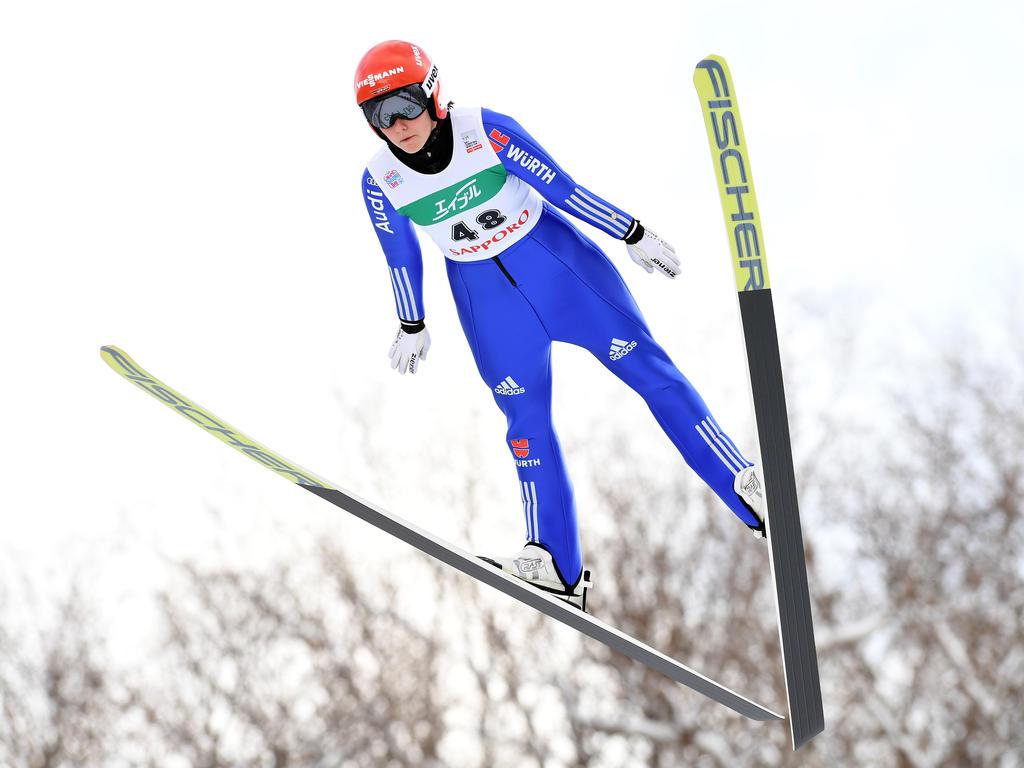 Carina Vogt landete in Oberstdorf auf Rang acht