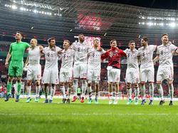 Die Bayern triumphierten in Leverkusen mit 6:2