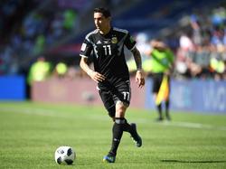 Ángel di María ist auch bei der WM 2018 wieder im Aufgebot Argentiniens