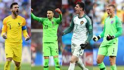 Lloris, Subasic, Courtois und Pickford wollen das WM-Finale erreichen
