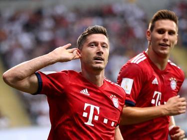Lewandowski logró un histórico triplete en la Supercopa. (Foto: Getty)