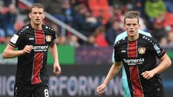 Führungsspieler in Leverkusen: Lars und Sven Bender