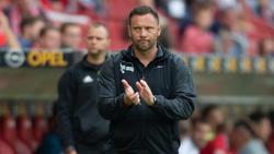 Pál Dárdai und die Hertha mussten sich in Mainz mit einem Punkt begnügen