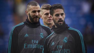 Bestreitet gegen ihn erhobene Anschuldigungen: Karim Benzema von Real Madrid (l.)