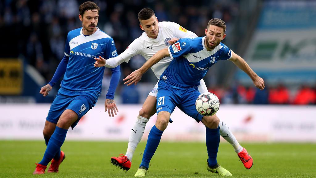 Holstein Kiel kam in Magdeburg nicht über ein Unentschieden hinaus