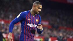 Kevin-Prince Boateng gab sein Debüt für Barca am Mittwoch