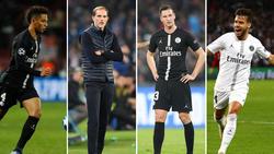 Thilo Kehrer, Thomas Tuchel und Julian Draxler wollen mit PSG die Champions League gewinnen