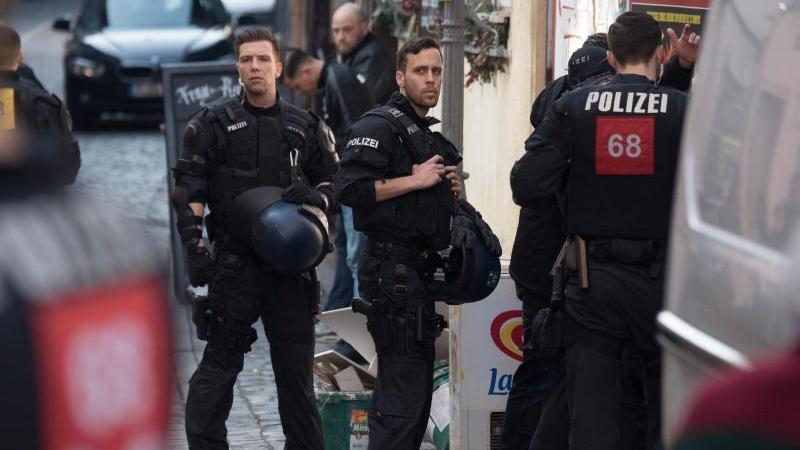 In Frankfurt hatte es am Donnerstag mehrere Zwischenfälle gegeben