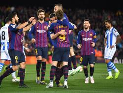 El Barça puede convertirse en campeón en cuestión de días. (Foto: Getty)