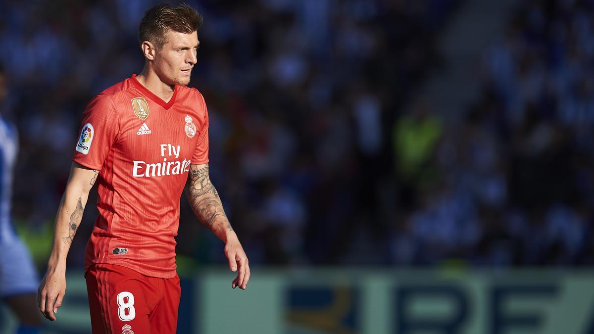 Toni Kroos spielte bei der Niederlage von Real Madrid wieder keine Rolle
