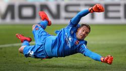 Steht weiter im Tor des 1. FC Nürnberg: Christian Mathenia