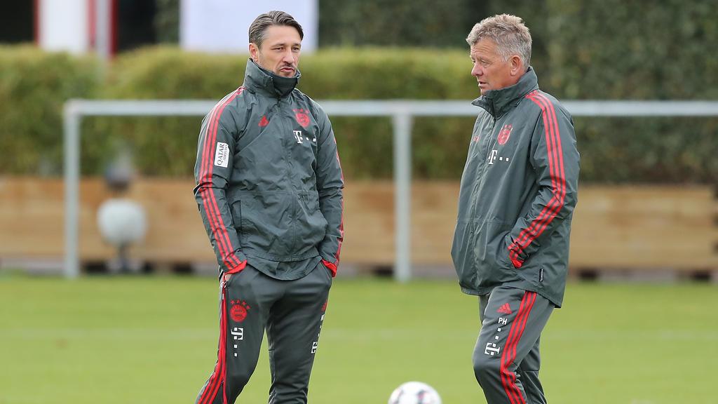 Wird Peter Hermann (r.) bald als Kovac-Assistent ersetzt?
