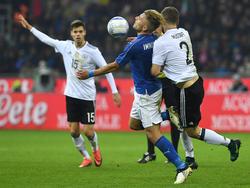 Keinen Sieger gab es im Klassiker zwischen Italien und Deutschland