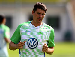 Mario Gomez konnte bereits Laufeinheiten beim VfL Wolfsburg absolvieren