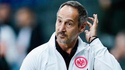 Adi Hütter will den Aufwärtstrend weiter fortsetzen