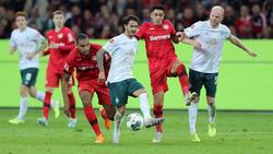 Kein Sieger zwischen Werder Bremen und Bayer Leverkusen