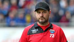 Paderborns Trainer Steffen Baumgart übt scharfe Kritik