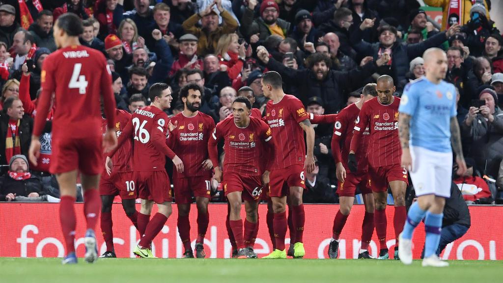 Drei Treffer konnten die Liverpooler bejubeln
