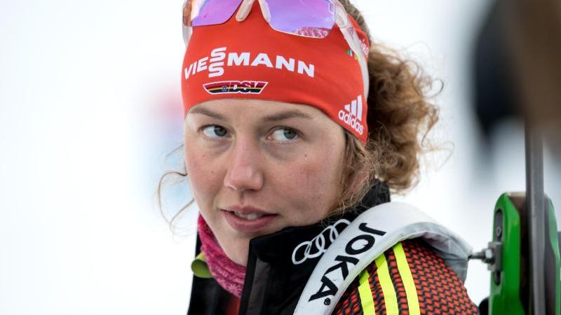 Ist auch nach dem Ende ihrer Karriere noch an Biathlon interessiert: Laura Dahlmeier