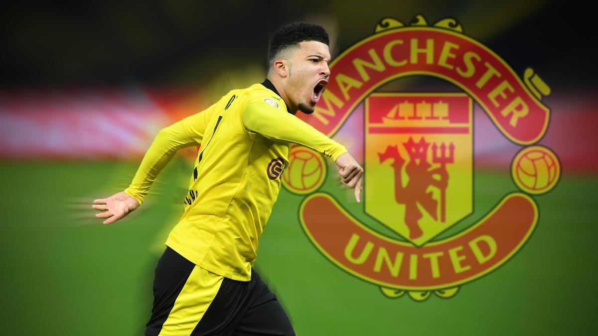 Jadon Sancho trägt bei Manchester United wohl die Nummer 16