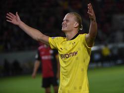 Erling Håland macht da weiter, wo er in der letzten Saison aufgehört hat