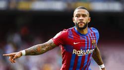 Barcelonas Hoffnungen gegen den FC Bayern ruhen auf Memphis Depay