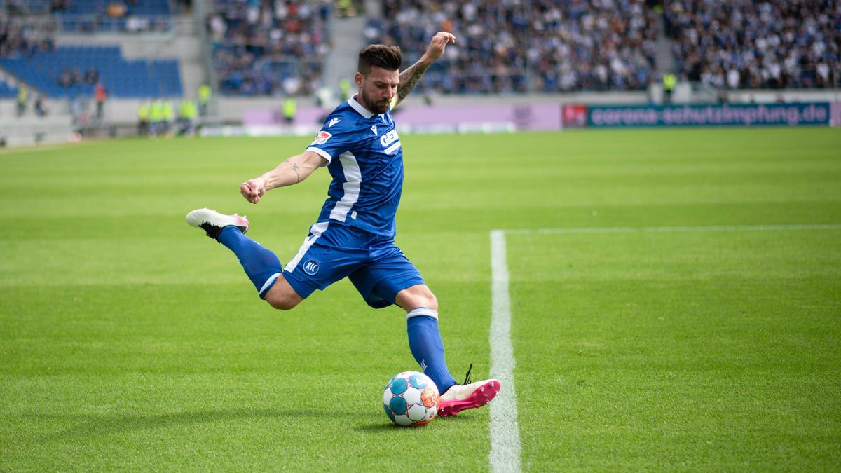 Jérôme Gondorf verlängert beim KSC