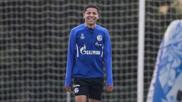 Amine Harit steht beim FC Schalke 04 unter Vertrag