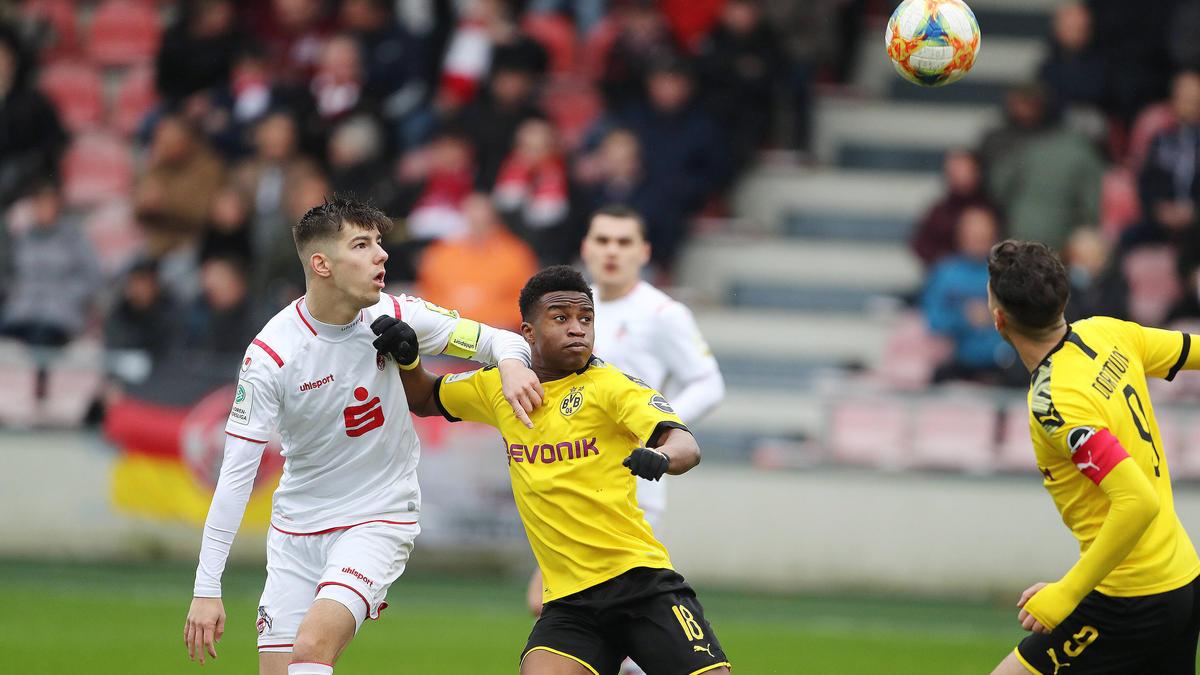 Die BVB-Jugend besiegte den 1. FC Köln mit 2:0