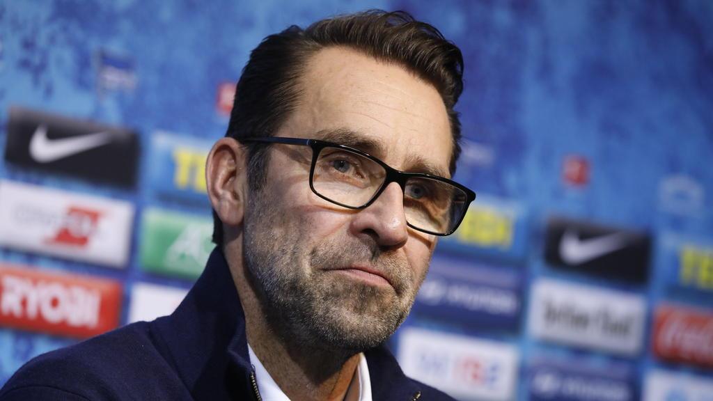 Michael Preetz von Hertha BSC äußerte sich zum Aus von Jürgen Klinsmann