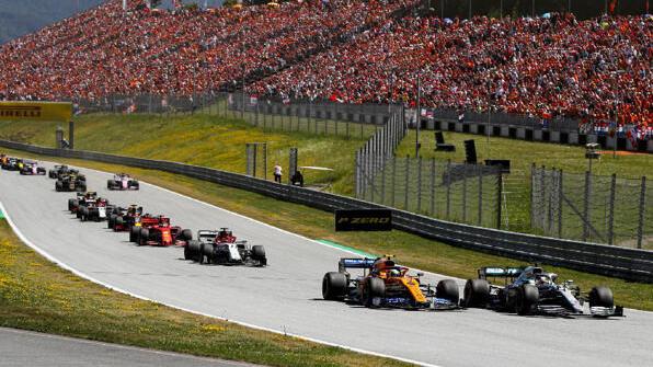 Formel 1 in Spielberg: Das Rennen findet sich (noch) im Kalender 2020