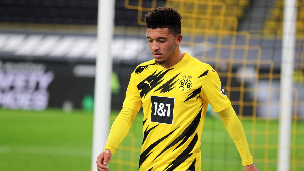 Jadon Sancho steht (noch) beim BVB unter Vertrag