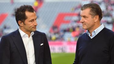 Buhlen Hasan Salihamidzic und Michael Zorc um Fabio Blanco?