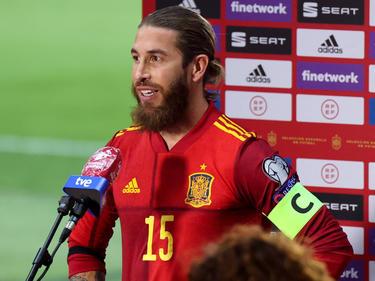 Sergio Ramos finalizó el encuentro exultante de alegría.