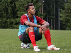 Emilian Metu im ÖFB-U18-Teamtraining