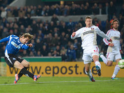 DFB-Pokal 12/13: Leverkusen mit Mühe gegen Bielefeld