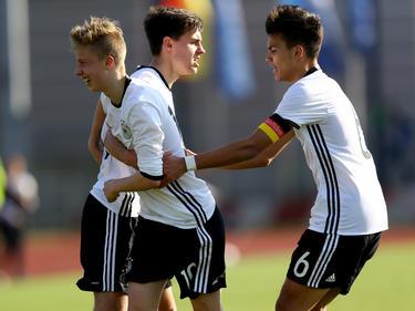 Die deutsche U17 hat sich für die EM 2016 in Aserbaidschan qualifiziert