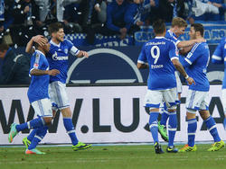 Jubel beim FC Schalke 04