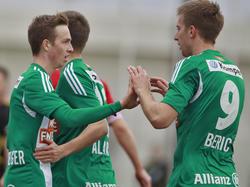 Zwei Personalien die vor dem Mattersburg-Spiel heiß diskutiert werden: Schobesberger und Berić