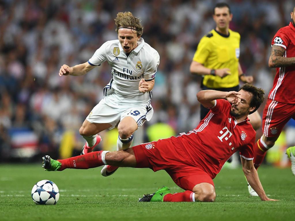 Real Madrid behielt in den letzten Duellen mit dem FC Bayern die Oberhand