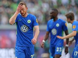 Der VfL Wolfsburg steht vor dem letzten Spieltag erneut am Abgrund