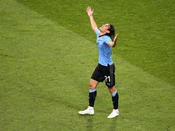 Edinson Cavani schoss Uruguay mit einem Doppelpack zum Sieg gegen Portugal