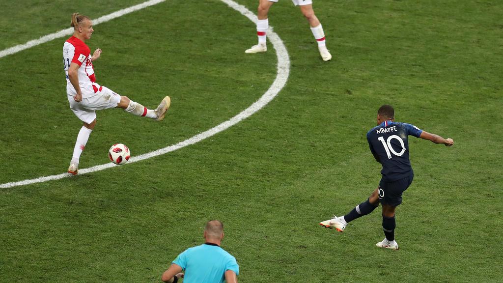 Mbappé sorgt für das vierte Tor der Franzosen
